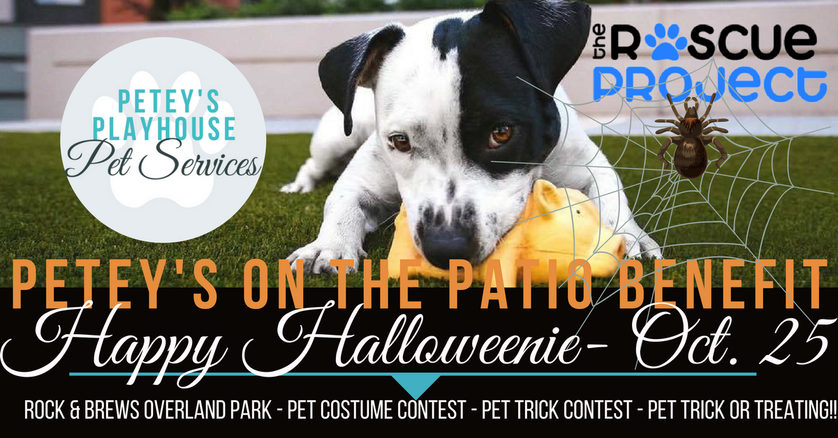 PETEY'S on the Patio Benefit - Happy Halloweenie