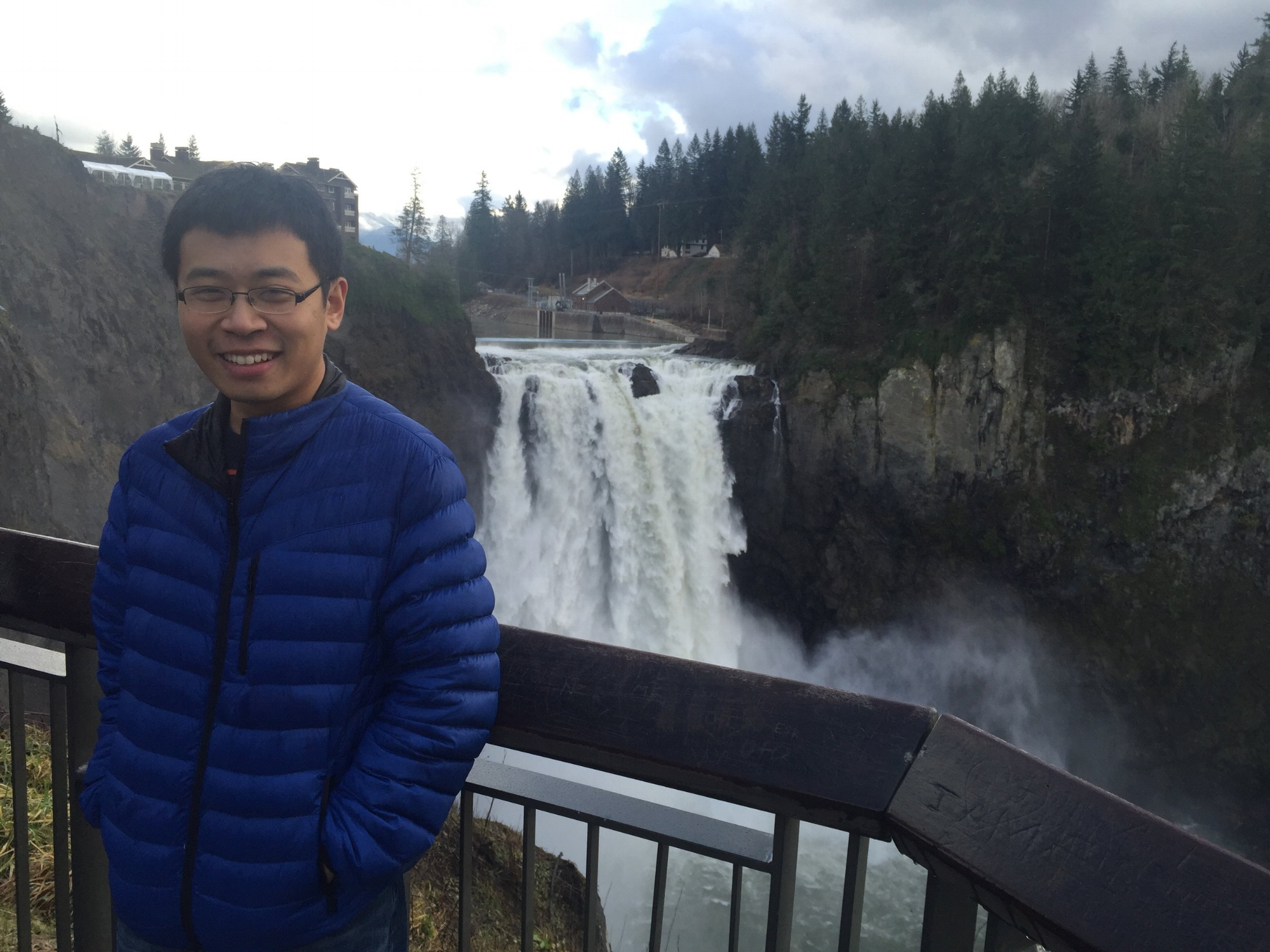 Snoqualmie Falls, WA, Winter 2016