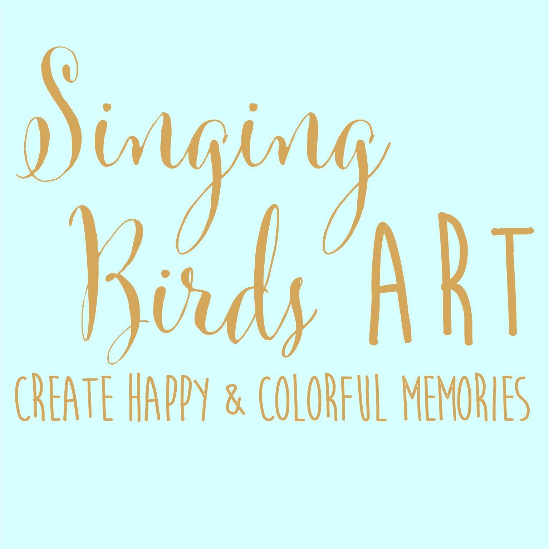 Singing Birds Art