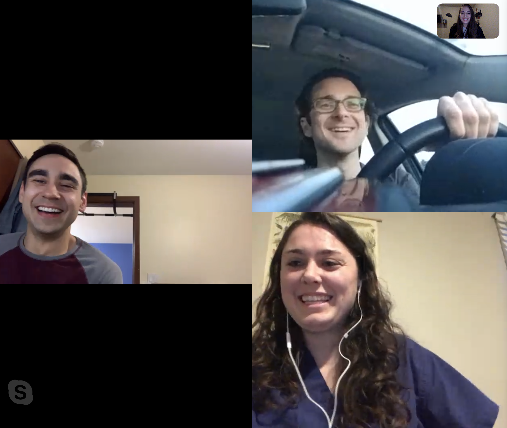 First official Skype meeting with the new members of LiveSmyle!