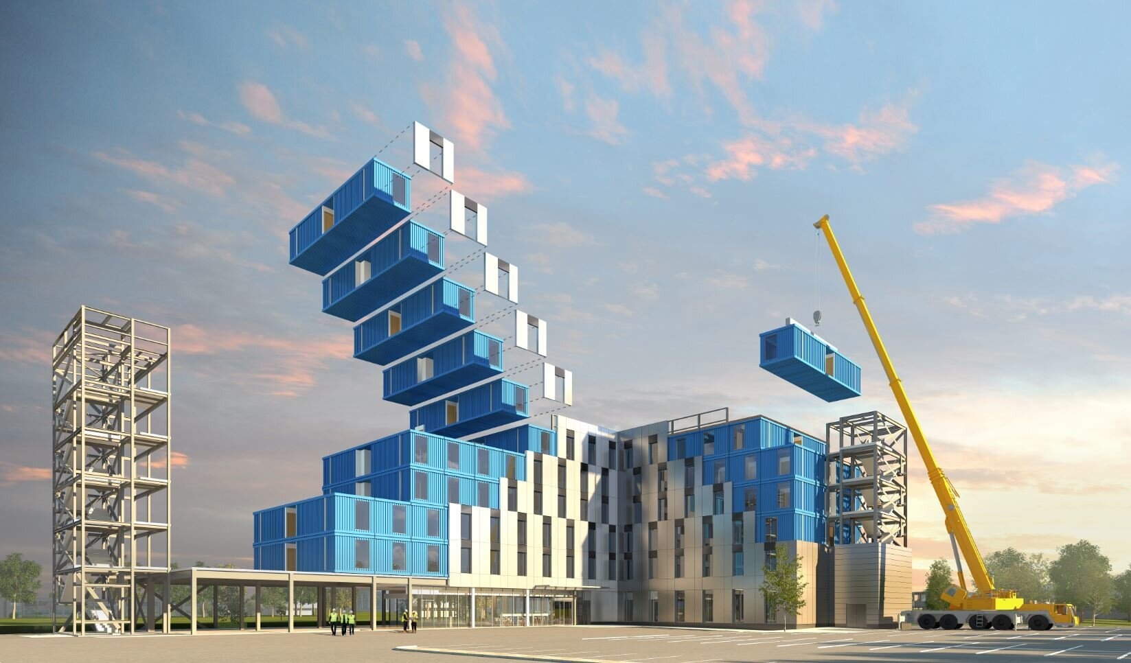 MODULAR CONSTRUCTION - The future of Ground Up Development that saves times, is safer and built with better quality.