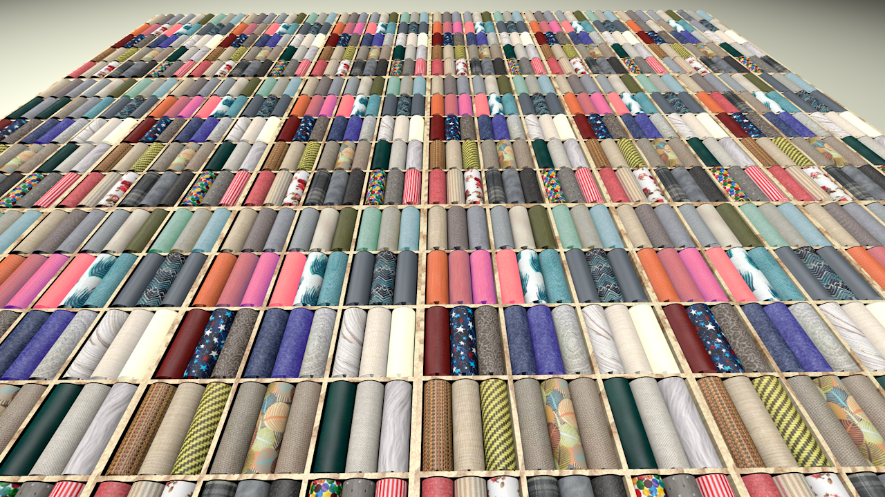 The new library of fabric is a source of creative inspiration in its own right. This floor-to-ceiling display makes room for our showroom space up front, and allows for ease of retrieval in the back.