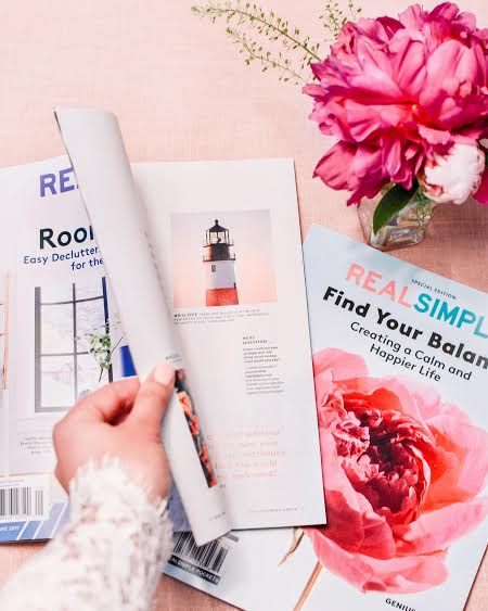 "REAL SIMPLE MAGAZINE - JUNE ISSUE#RSLOVE""Bags are packed for the next few weeks of traveling! First stop, Nantucket, my happy place!"" @merhanson"