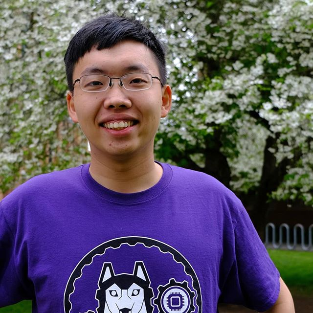 Thanks, Kai, for another great year of Donor Relations! Kai spearheaded efforts this year to obtain much-needed sponsors and funding. Donor Relations is truly the backbone of our team, gathering the funds to allow us to bring our engineering visions to life. A mechanical engineering major, Kai will begin pursuing his graduate degree next year! #uwrobotics #huskyrobotics #robotics #uw
