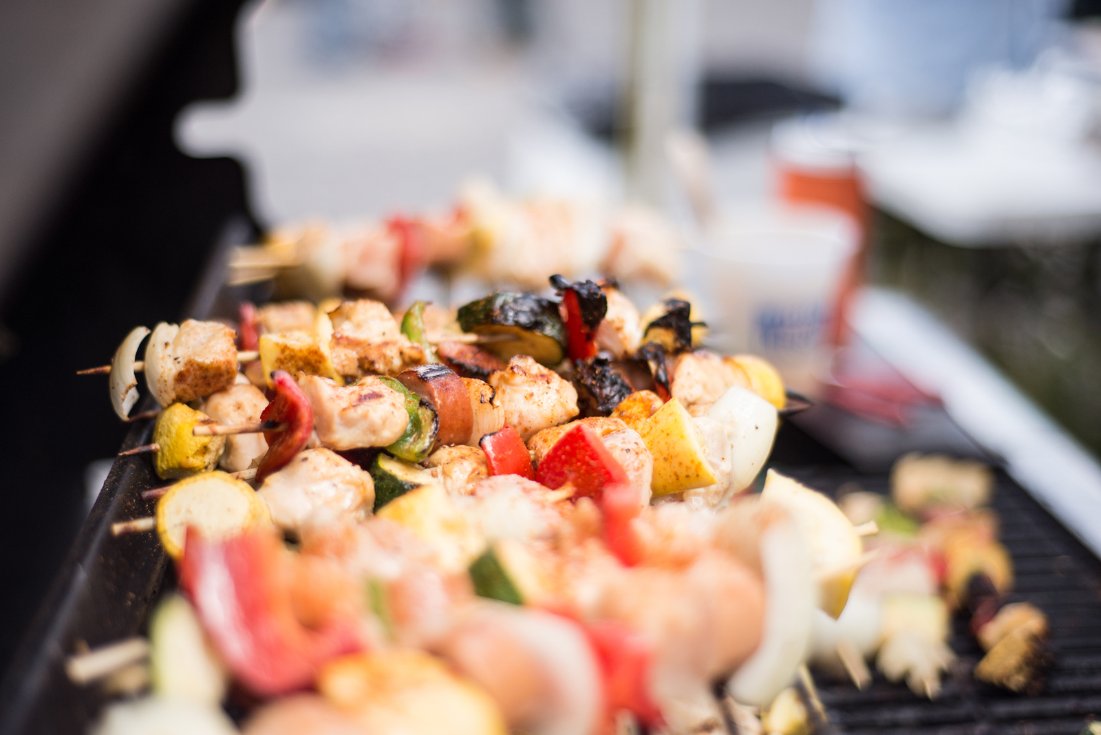 Food & Drinks -        We serve Fried Shrimp plates, Frogmore Stew, Chicken KebobS, Shrimp Kebobs, Barbeque Sandwiches, Hot Dogs, Desserts and so much more...