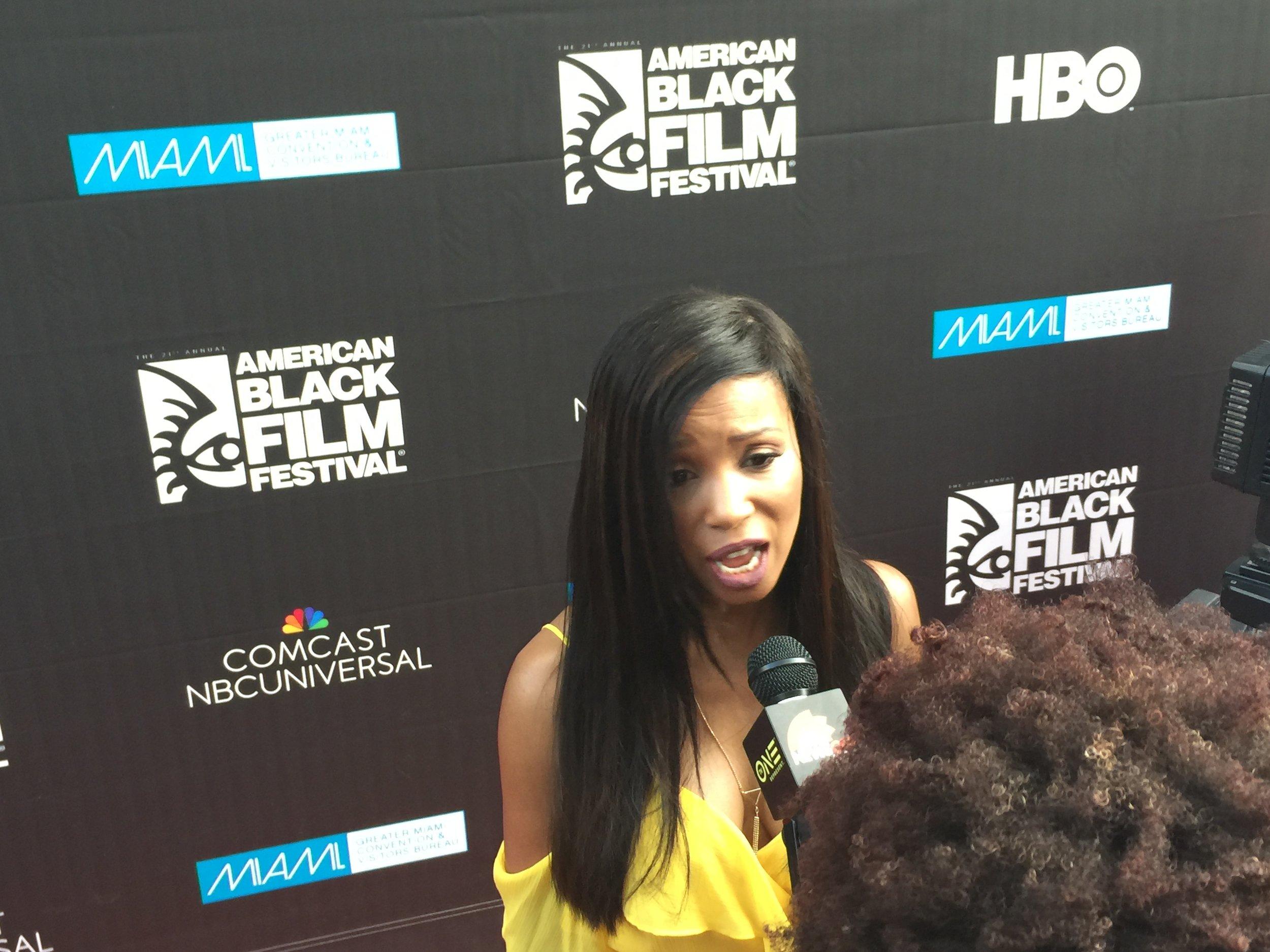 Elise Neal at American Black Film Festival