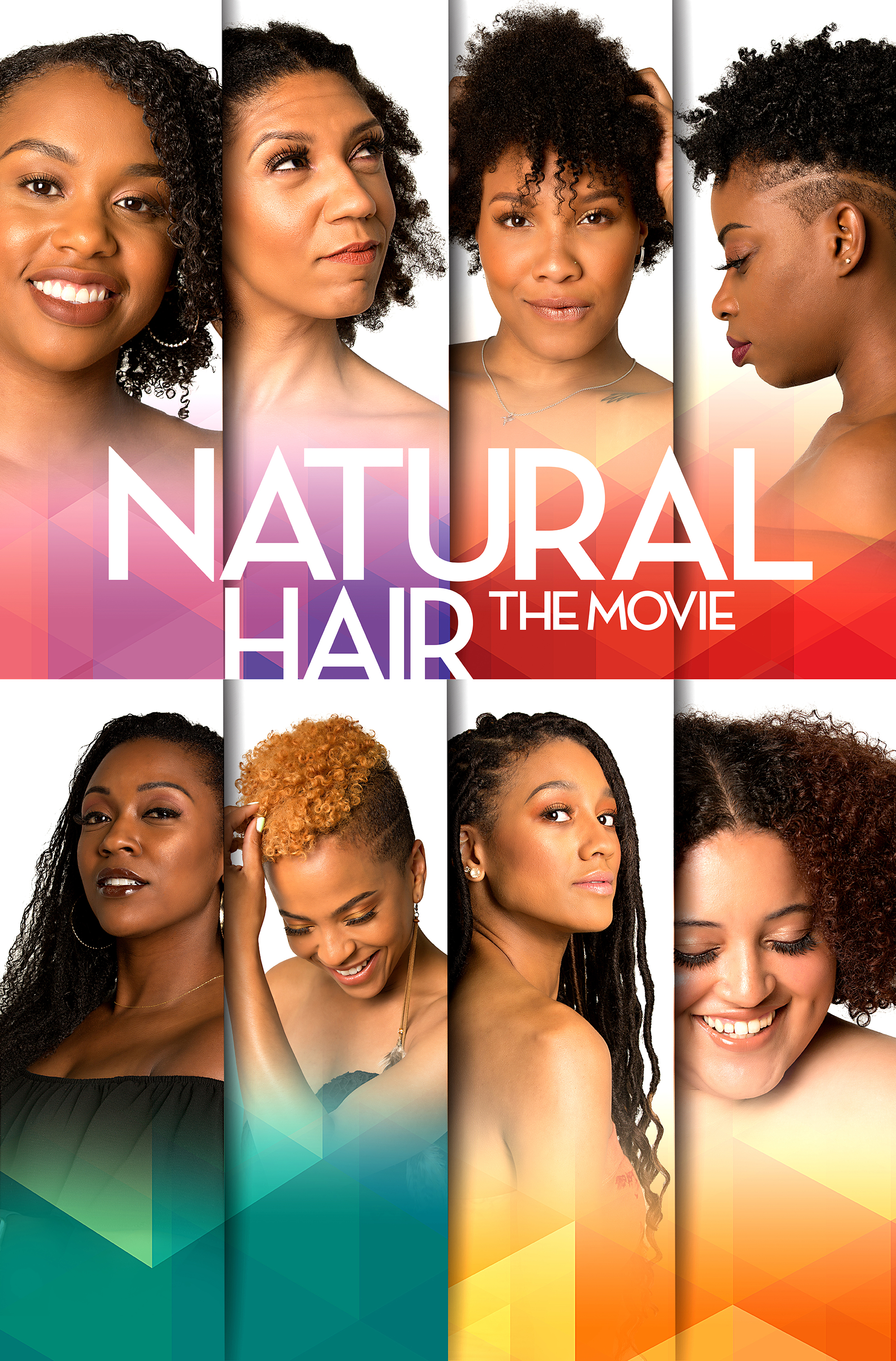 Key Art for Natural Hair The Movie