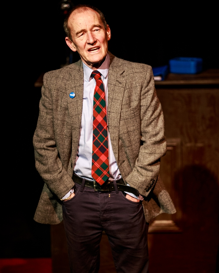 David Hayman in  The Cause Of Thunder 2017