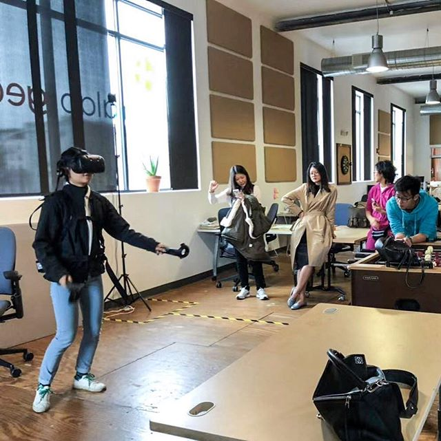 Participants of our 2018 AlphaLab Incubator Tour had the opportunity to network with the founders of emerging startups and were inspired by their innovative products.  #cmuiea #startup #incubator #virtualreality #innovation