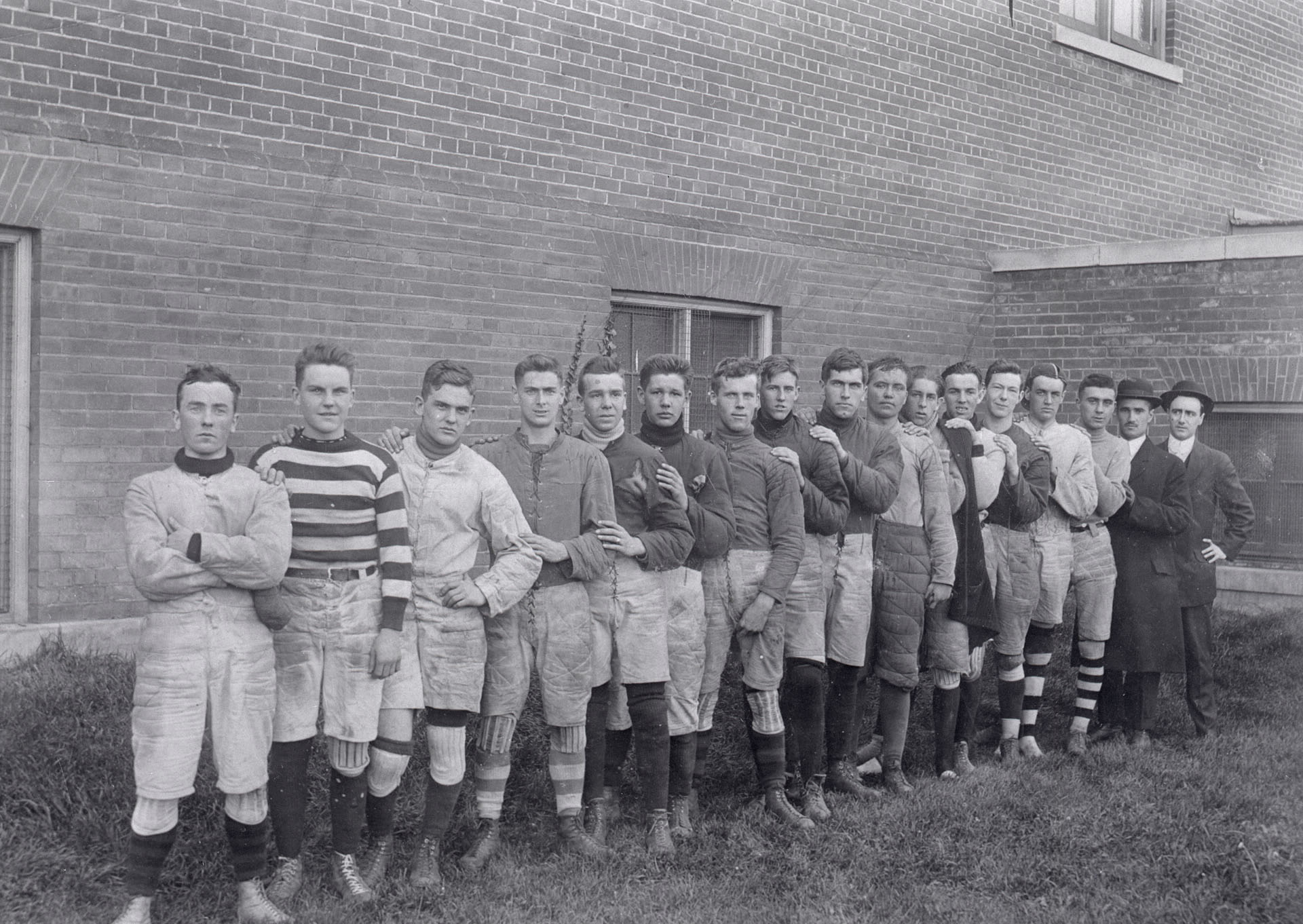Young Men's Christian Association, Broadview Ave., Rugby team., 1915