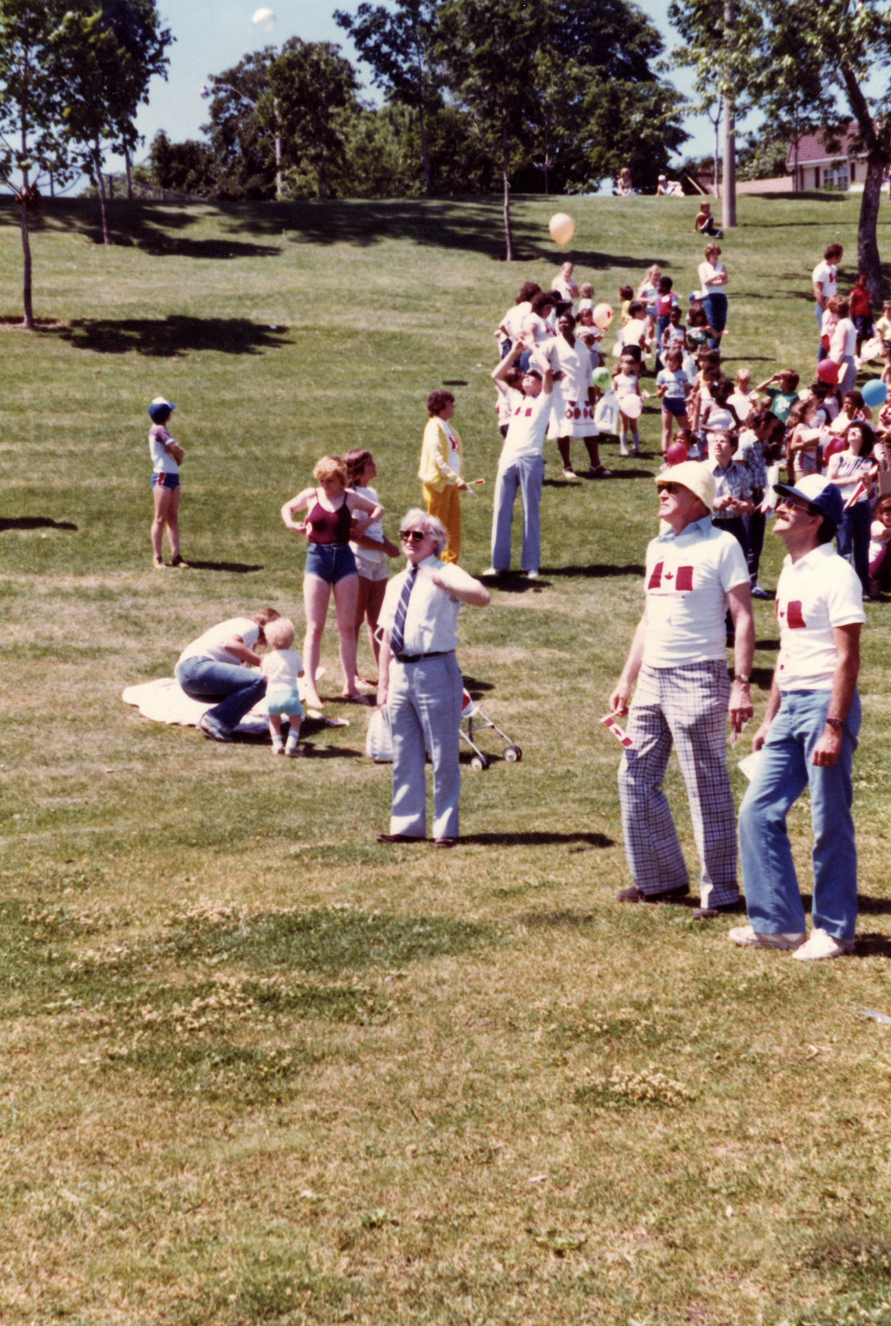 Canada Day, Riverdale Park, 80's.