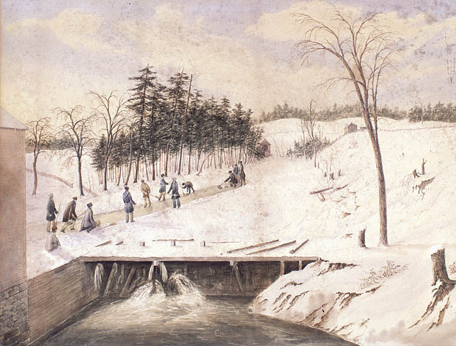 Curling on The Don River, 1836