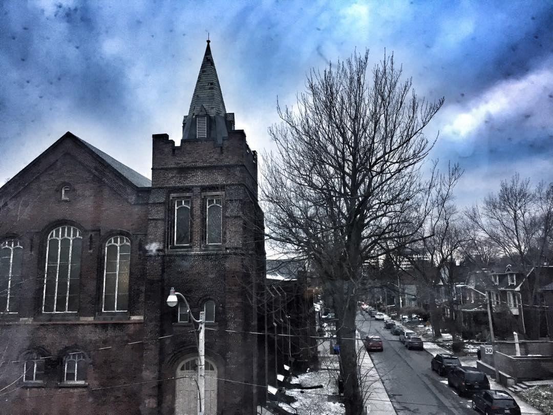 The view looking towards the Metropolitan Church