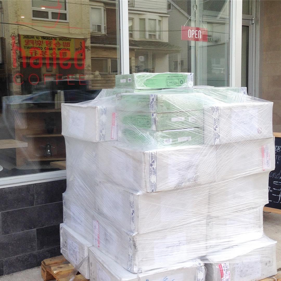 Hailed's latest shipment of dates