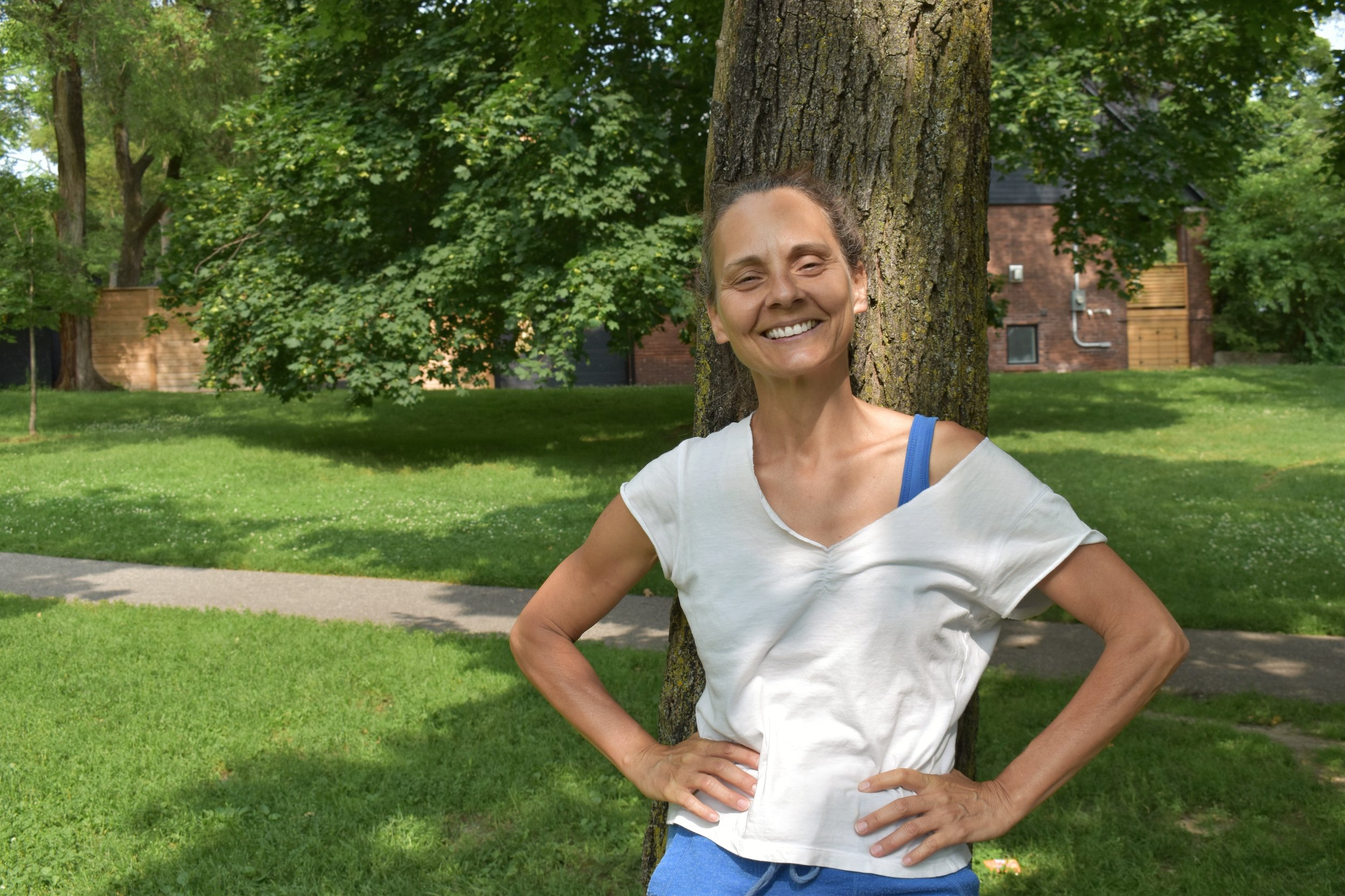 Meet Sylvie Bouchard, Dusk Dances Festival Director. You'll see her organizing everything behind the scenes at Withrow Park. If you see her, be sure to say hi and express your thoughts // FLEUR BOOMSMA