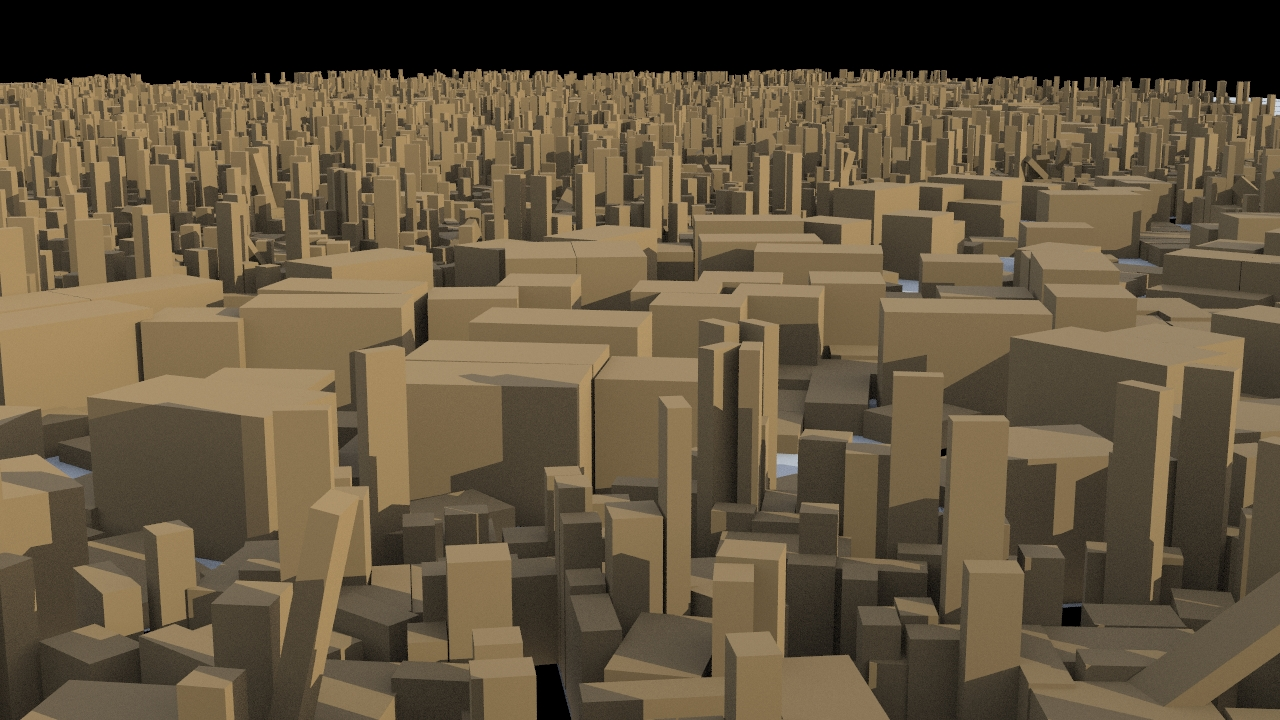 Bounding Box Layout of the buildings