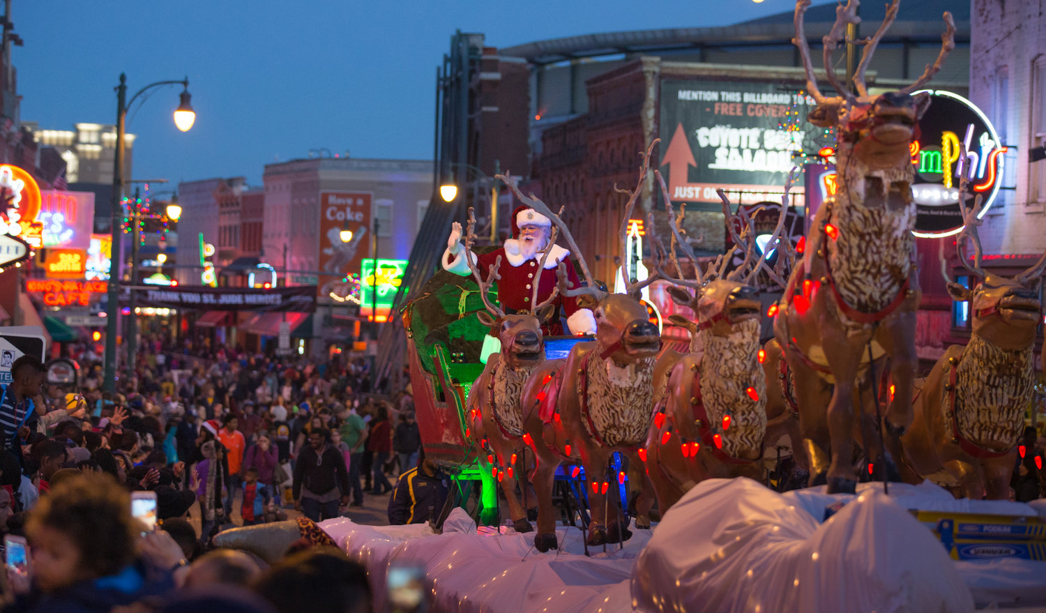 Christmas Steppers Party In Memphis 2020 Memphis Holiday Parade — Beale Street