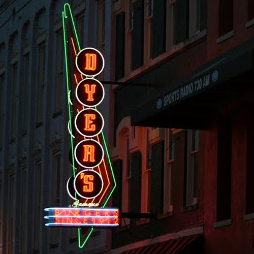 205 Beale St    Dyer's Burgers    LEARN MORE