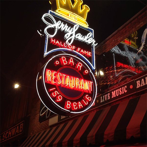159 Beale    Jerry Lawler's Hall of Fame Bar & Grille    Learn More