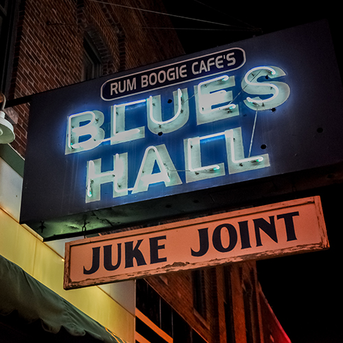 174 Beale St    Blues Hall Juke Joint    Learn More
