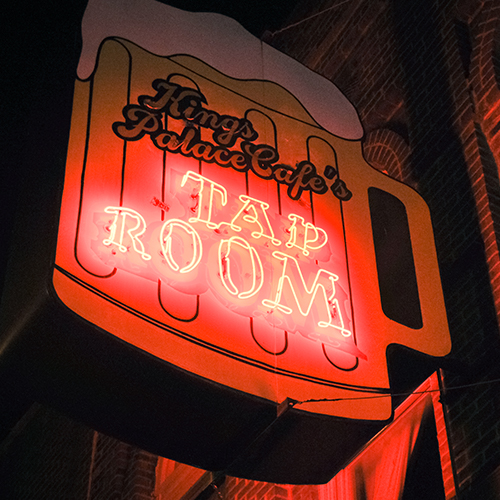 168 Beale St.    King Palace Cafe's Tap Room    Learn More