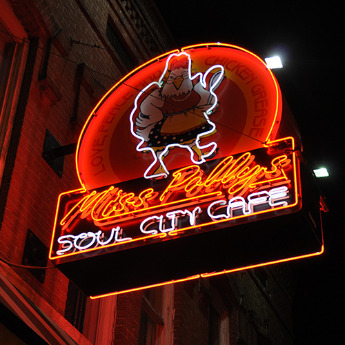154 Beale St    Miss Polly's Soul City Cafe    LEARN MORE