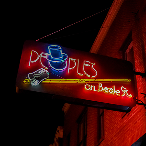 323 Beale St    People's on Beale    Learn More