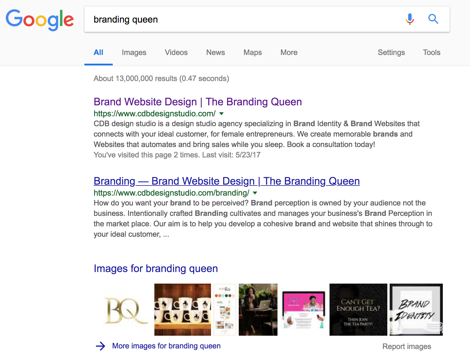 The Impact of on your SEO with Squarespace The Branding Queen CDB design studio