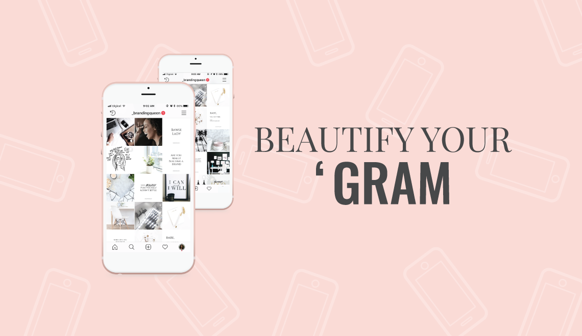 BEAUTIFY YOUR INSTAGRAM COURSE BY CASSIA MARINA