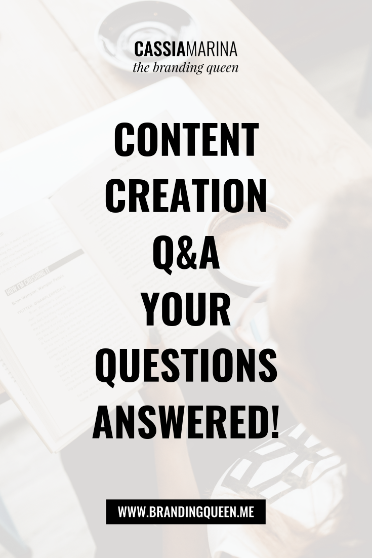 Ep. #015 - Content Creation Q&A Your Questions Answered