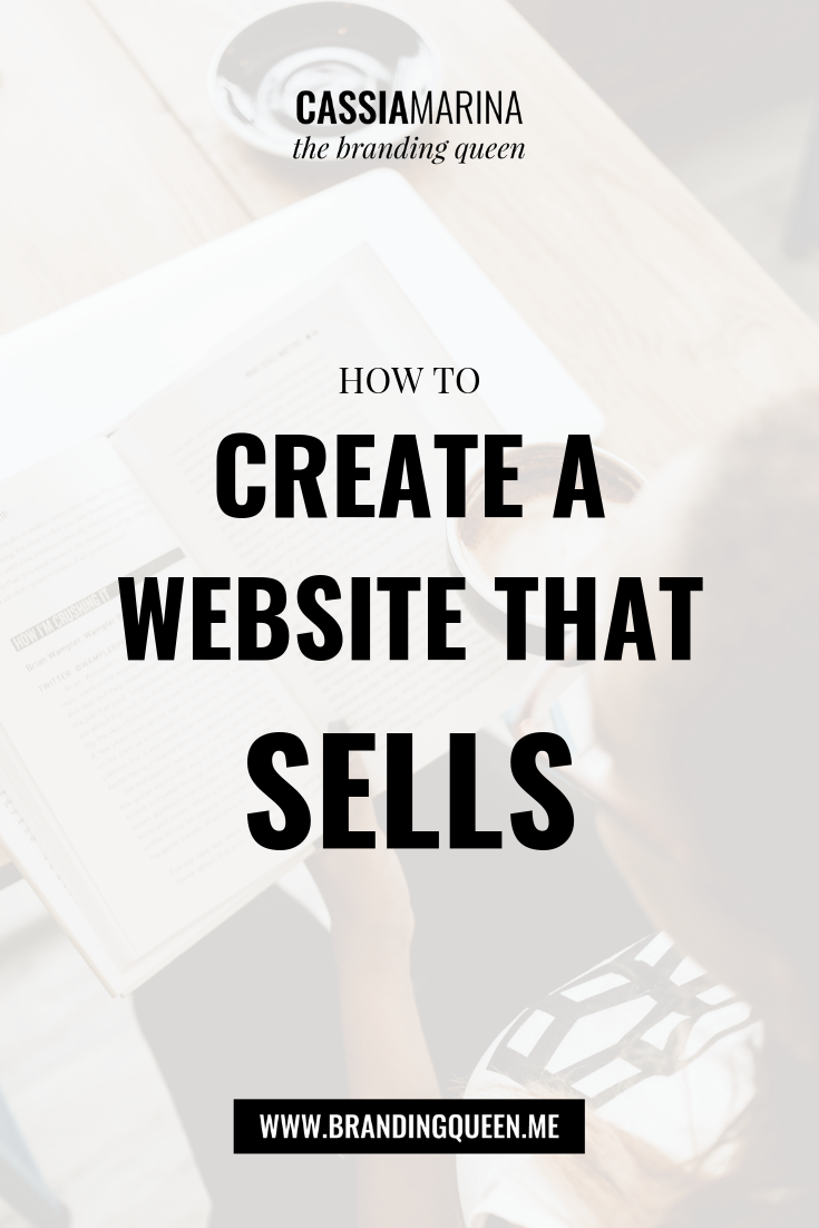 How to create a website that sells…