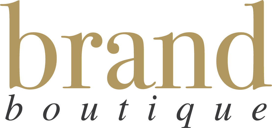 Brand Boutique gives your pre-made branding and logo design at a fraction of the cost of custom branding