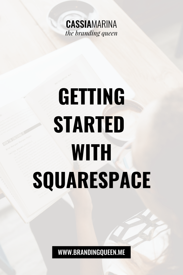 How to Get Started with Squarespace Cassia Marina New York