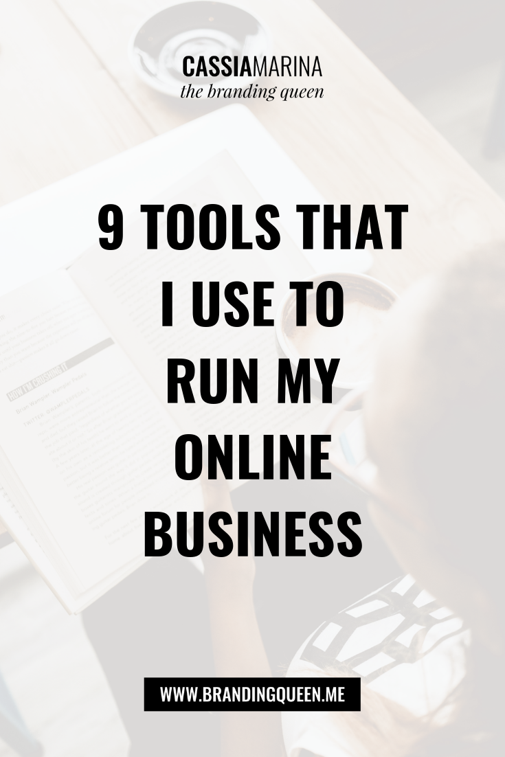 9 Tools That I Use to Run My Online Business