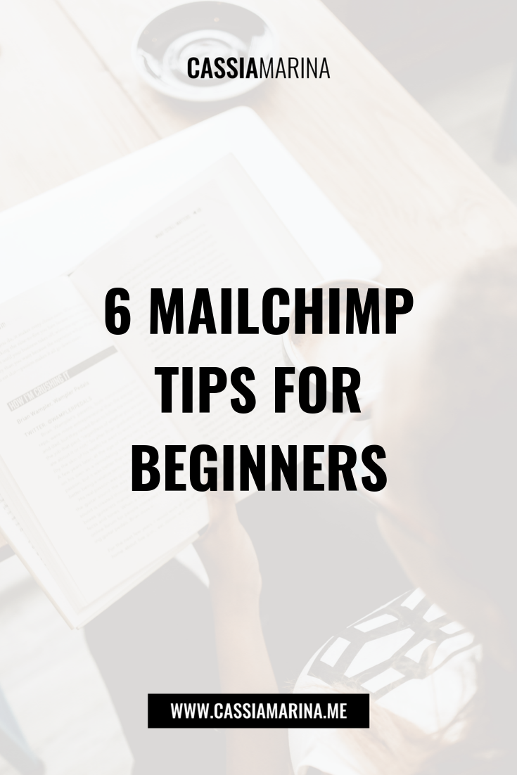 6 Six MailChimp Tips for Beginners New York Trinidad and Tobago Caribbean Jamaica Barbados St. Lucia Cassia Marina