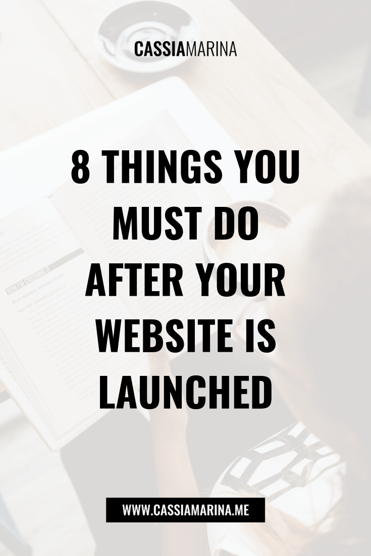 Website Aftercare: 8 Eight Things You MUST Do After Your Website Is Launched