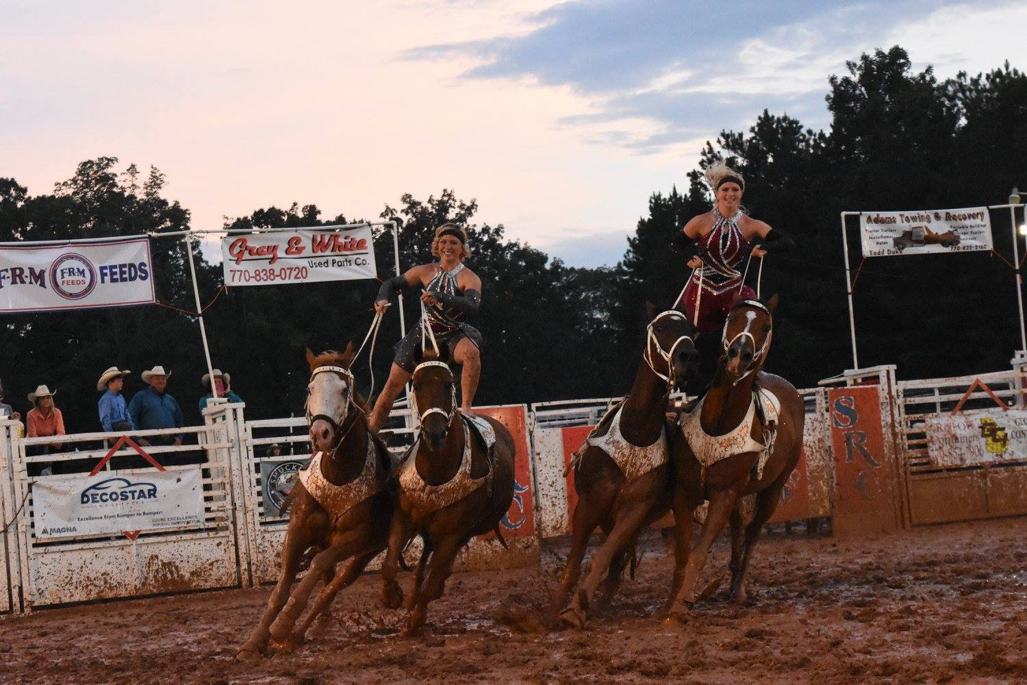 Not even a muddy arena will stop us from performing at our best ability!