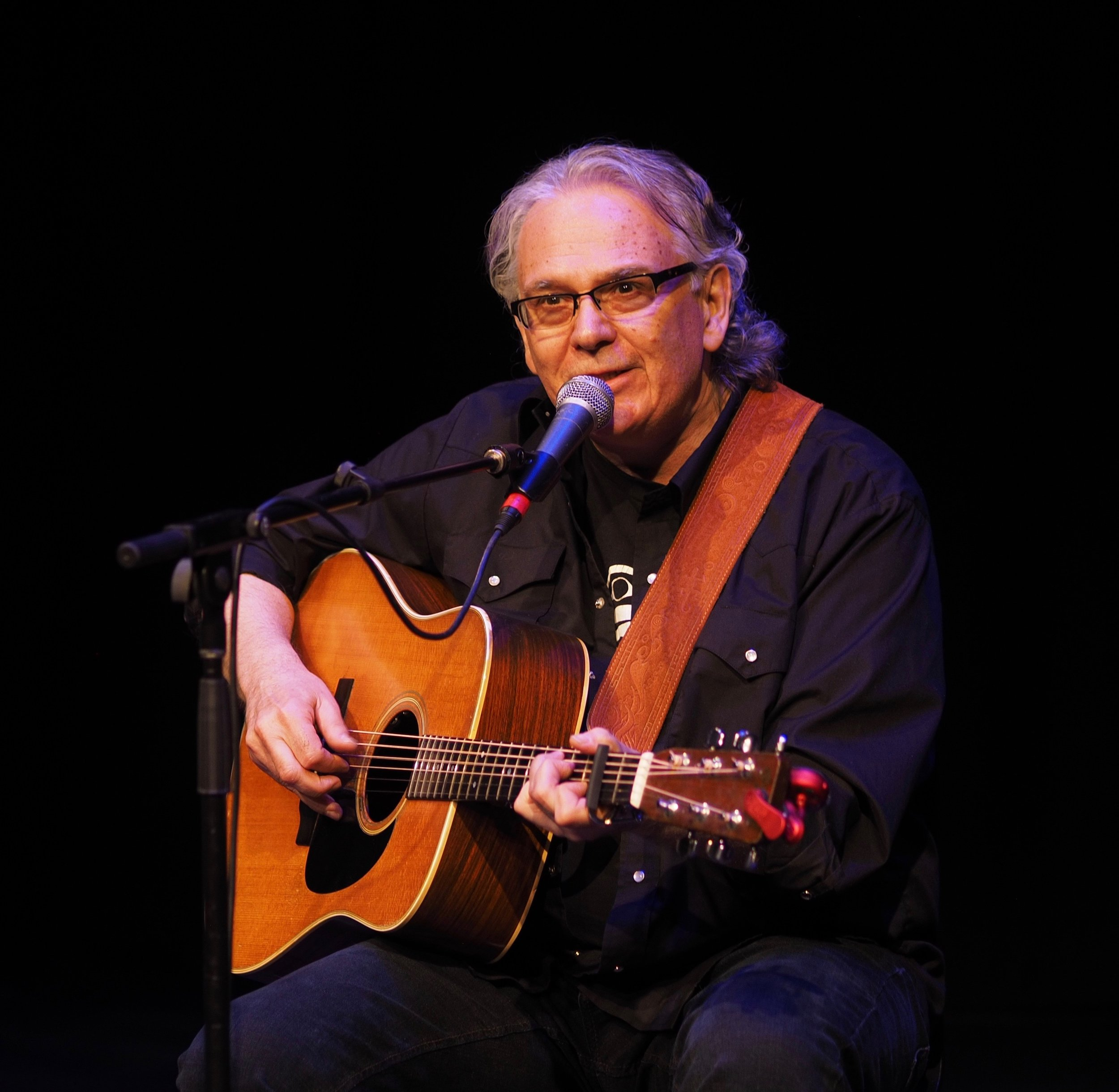 Ivan Boudreau  is a veteran songwriter, musician and our SongStage host.