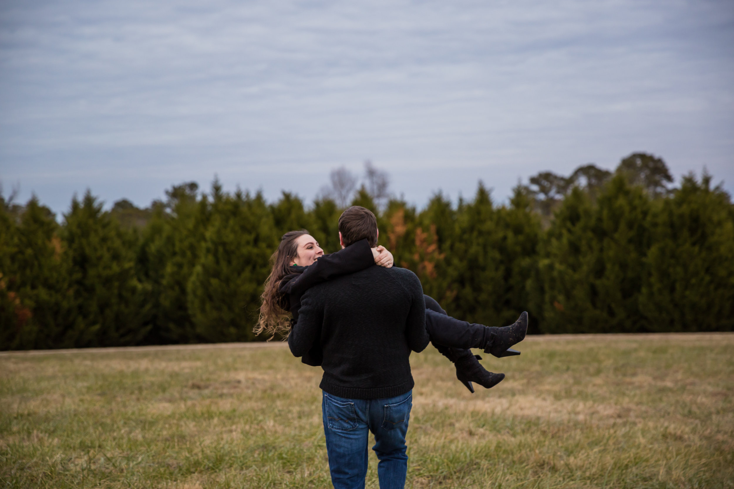 Rand Bryan House Engagement Garner NC