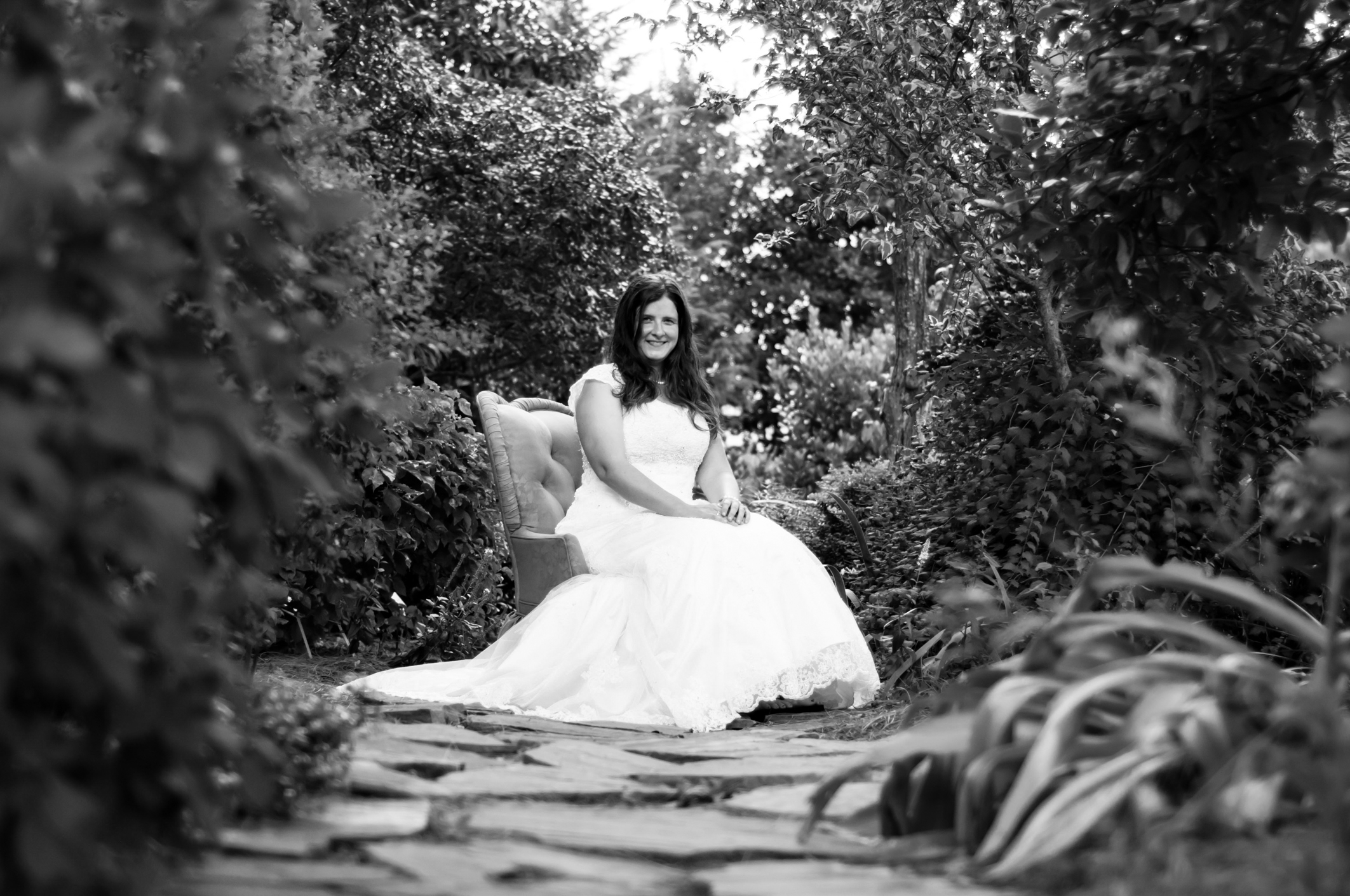 JC Raulston Arboretum Bridal Photographer Raleigh, NC