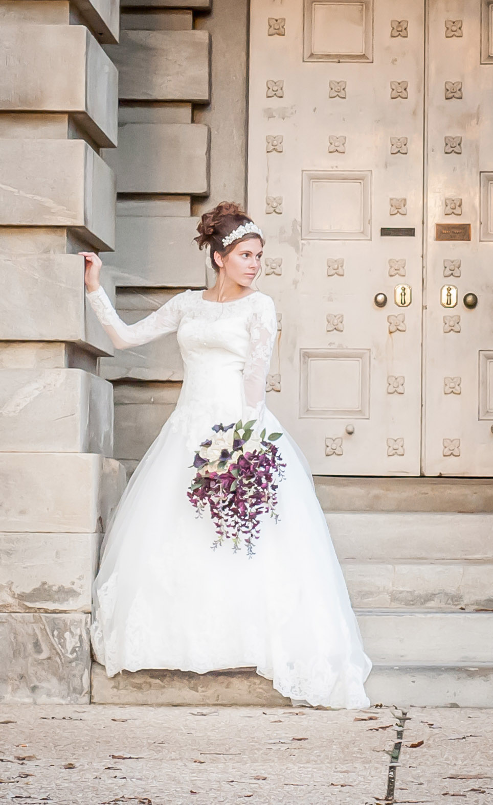 Downtown Raleigh, NC Bridal Photographer