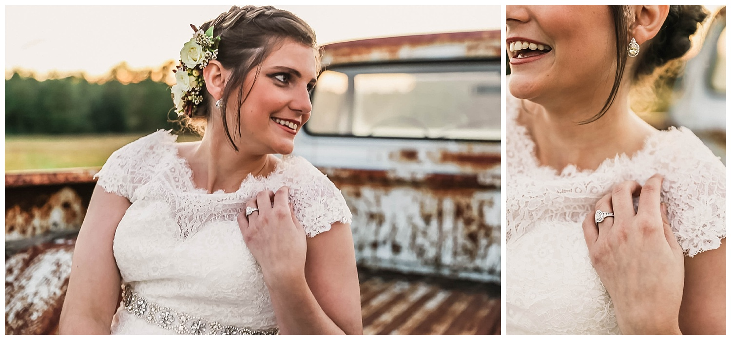 Vintage Bridal Session Raleigh NC Photographer