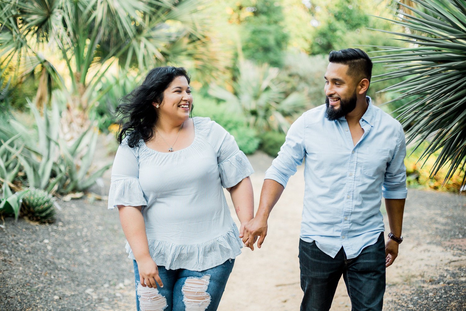 JC Raulston Arboretum Couple Photograpy