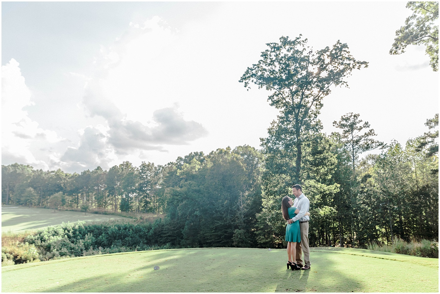 12 Oaks Holly Springs Engagement Session