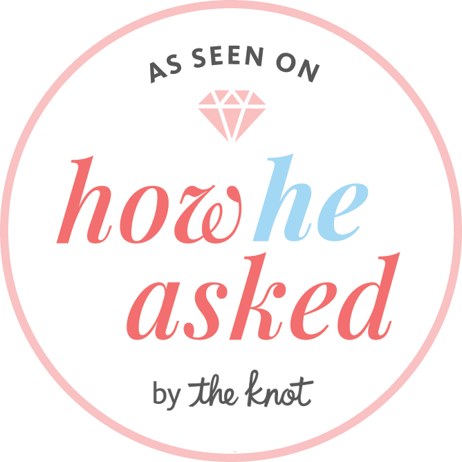Featured Proposal on How He Asked