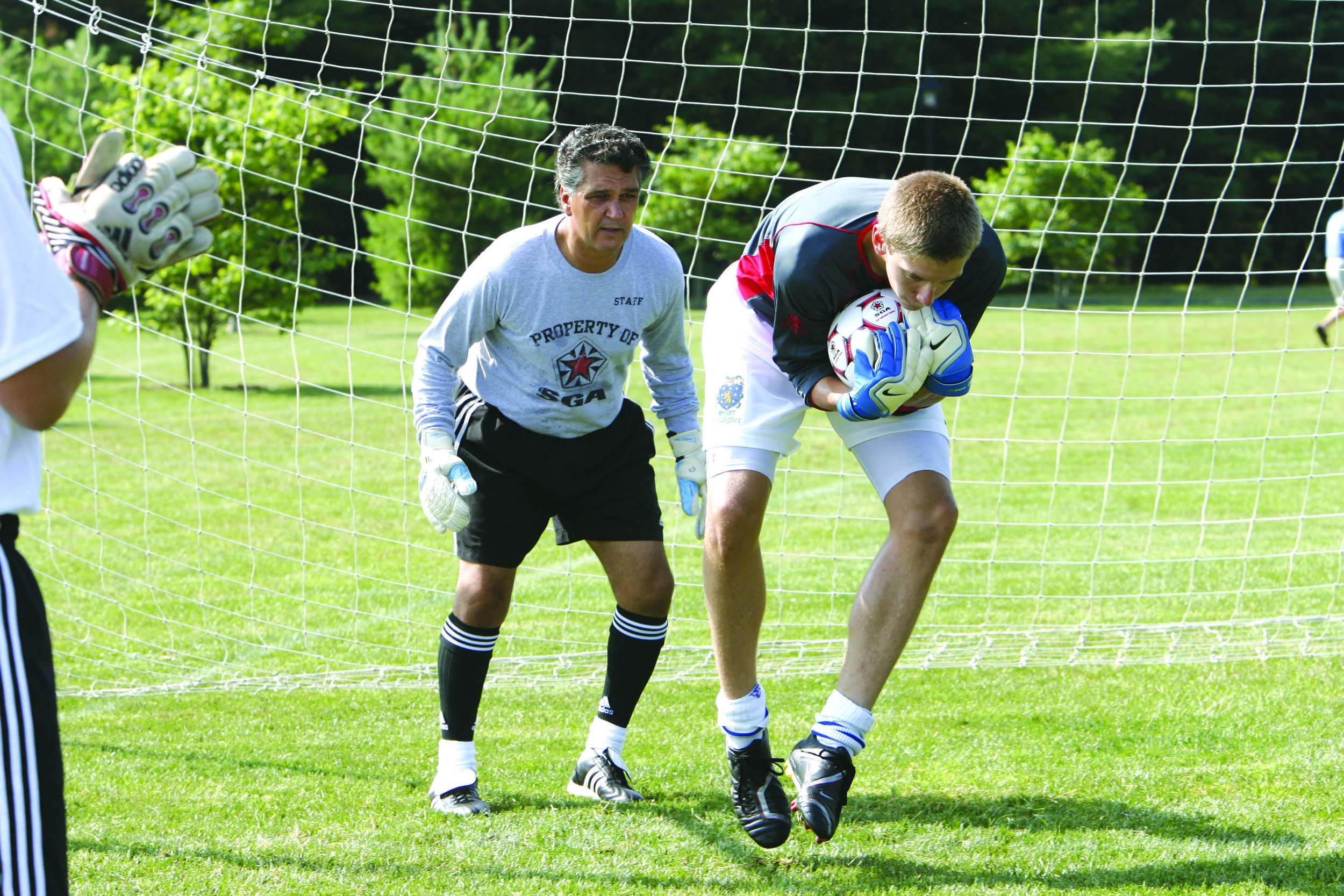 SGA ADVANCED ACADEMY  Ages 15-18 | Co-ed | Residential | $850  Level:  Intermediate & Advanced   Sessions:   July 21-25 | July 28-Aug1 | August 4-8  This program is designed for college-bound goalkeepers who have mastered the foundations of goalkeeping. Advanced Academy utilizes unique training equipment and a specific goalkeeper fitness program designed to challenge its participants will be conducted early in the morning.