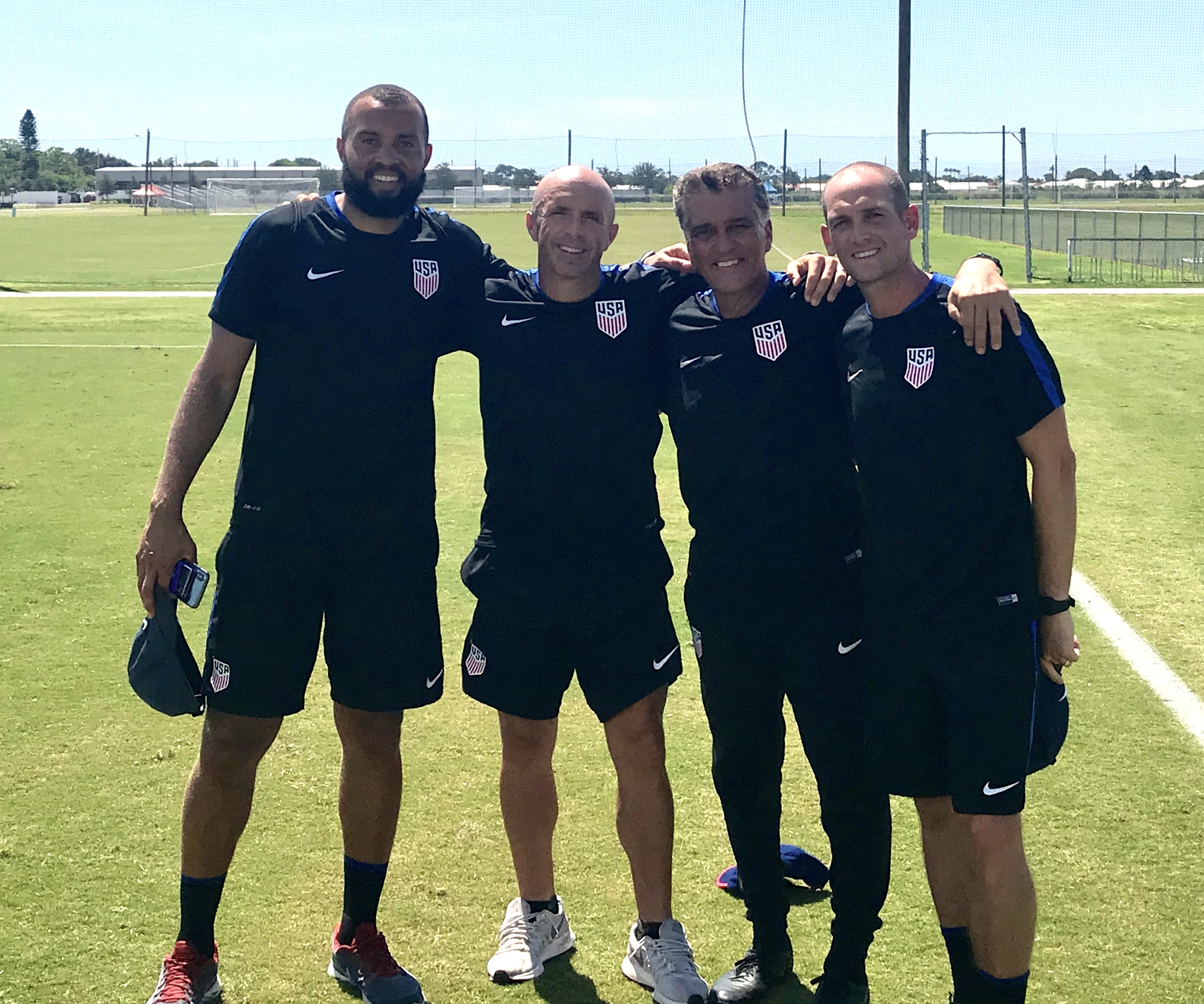 Just returned from the U16 Boys National Team camp at IMG. World Class facility! Pleasure to work with these quality coaches. This young generation of players has quality. The future is very promising.