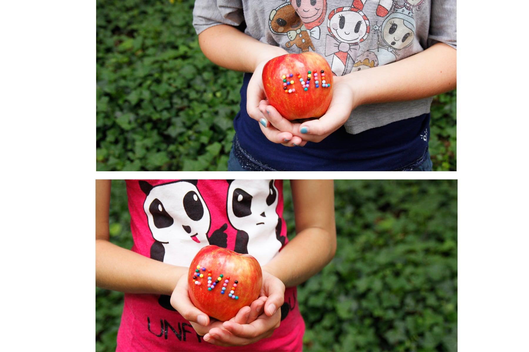 Evil Apple Twin 2( Top) Evil Apple Twin (Bottom)