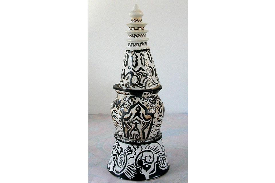 Cone-top Stupa