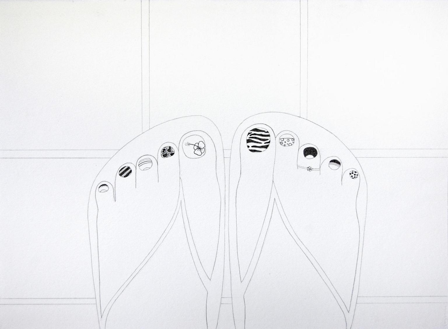 Untitled (Toes)